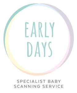 Early Days Baby Scan Wakefield Logo